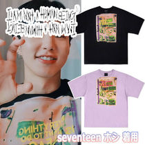 I AM NOT A HUMAN BEING(ヒューマンビーイング) Tシャツ・カットソー ★Seventeen Hoshi着用★ 【IAM NOT A HUMANBEING】T-Shirt
