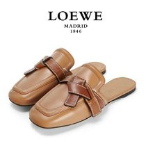∞∞ LOEWE ∞∞  Gate two-tone leather ミュール☆BR