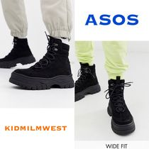 ASOS DESIGN★2type lace up boot☆カジュアルスタイル♪