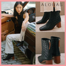 ☆新作!送料関税込☆ALOHAS West Black Braided Leather