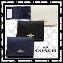 ★COACH★Small Trifold Wallet★コンパクト/三つ折財布/レザー
