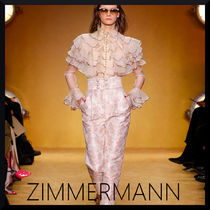 関税送料込【Zimmermann】LUCKY TIERED BLOUSE