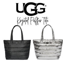 【UGG】KRYSTAL PUFFER TOTE ナイロン製 軽量トートバッグ