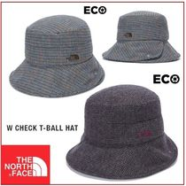 [THE NORTH FACE] W CHECK T-BALL HAT ★大人気★