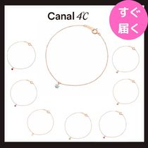 【canal 4℃】揺れる♪ 誕生石ブレスレット