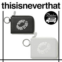 thisisneverthat Leather Zip Wallet YJ316 追跡付