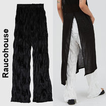 Raucohouse(ラウコハウス)★Bootcut Velvet Wrinkled Pants