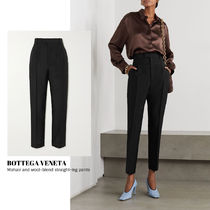 [BOTTEGA VENETA] wool-blend straight-leg pants 送料関税込