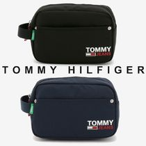 TOMMY JEANS ロゴポーチ 関税なし 国内買付 すぐ届く