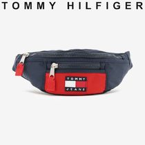 TOMMY JEANS カラーブロックウエストバッグ 国内買付 すぐ届く