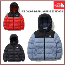 [THE NORTH FACE] K'S COLOR T-BALL NUPTSE EX HOODIE★大人気★
