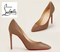 CHRISTIAN LOUBOUTIN☆Cinnamon Pigalle Pointed Toe Leather