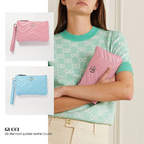 [GUCCI] GG Marmont quilted leather clutch 送料関税込