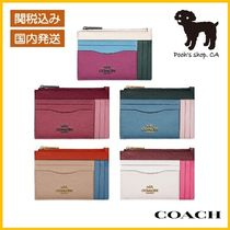 【COACH】Large Card Case In Colorblock◆国内発送◆