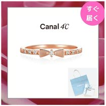 【canal 4℃】ピンキーリング リボンモチーフ