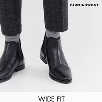ASOS DESIGN★Wide Fit chelsea boots☆スタイリッシュに♪