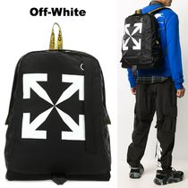 OFF WHITE アロー EASY ナイロン バックパック 関税負担なし