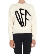 【関税負担】 OFF WHITE GRAFFITI SWEATER