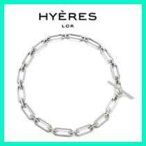 BTS着用☆Hyeres lor☆シルバーリンクチェーンネックレス