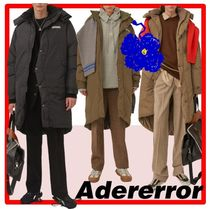 ★新作/人気★ADERERROR★Torn label puffer coat★コート★