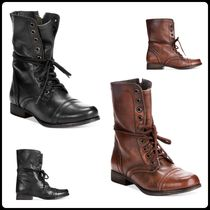 Steve Madden  Troopa Combat Leather Boots  2色