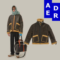 ADER Placid shearling jacketアーダーエラームートンコート