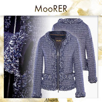 【20AW NEW】 MooRER_women / MARA-BCL ジャケット / NAVY