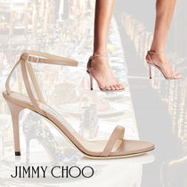 Jimmy Choo/MINNY 85/Ballet Pink Kid Leather Sandals/85㎜