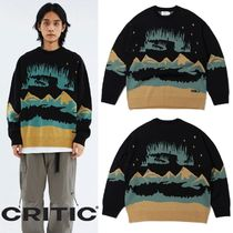 ★CRITIC★AURORA KNIT(BLACK)