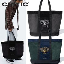 ★CRITIC★CORDUROY COLOR BLOCK TOTE BAG 2色