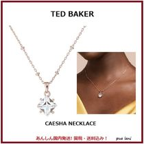 【TED BAKER】Caseha Crystal Candyスクエアストーンペンダント
