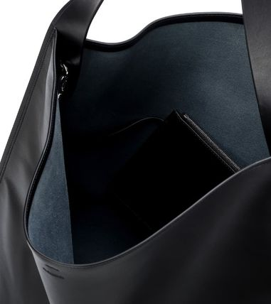 Jil Sander トートバッグ 【JIL SANDER】Border Medium leather tote(4)