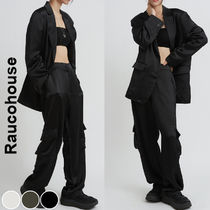 Raucohouse(ラウコハウス)★ Overfit Silky Wide Suit