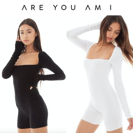 ARE YOU AM I オールインワン・サロペット ローラ着用★ARE YOU AM I★ANKE ROMPER