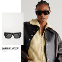 [BOTTEGA VENETA] square-frame acetate sunglasses 送料関税込