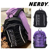 【NERDY】20FW★BELTED STRING BACKPACK 2色 韓国★正規品
