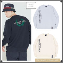 日本未入荷ROMANTIC CROWNのMODERN LAUREL LOGO SWEATSHIRT