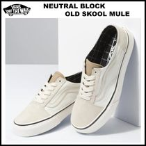 男女OK!! 20AW ◆Vans◆ NEUTRAL BLOCK OLD SKOOL MULE