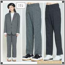 日本未入荷ROMANTIC CROWNのPLAID CHECK PANTS 全2色