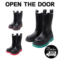 OPEN THE DOOR colorful platform boots (3 color) CA15 追跡付