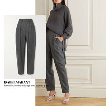 [ISABEL MARANT] melange wool tapered pants 送料関税込