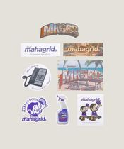 ◇MAHAGRID◇Hotel Sticker Pack◇