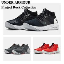 UNDER ARMOUR (アンダーアーマー ) キッズスニーカー Under Armour ☆ Project Rock商品 ☆ トレーニングシューズ 3色