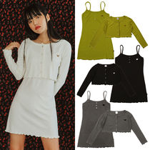 NASTYFANCY★日本未入荷 韓国 BASIC CARDIGAN ONE-PIECE SET UP