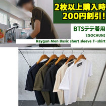 【GOCHUN】BTSテテ着用★Raygun Men Basic short sleeve T-shirt