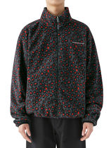 [thisisneverthat] DSN Fleece Jacket Red Leopard
