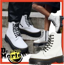 ☆人気☆Dr Martens☆JADON 8EYE BOOT☆WHITE ☆