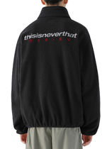 [thisisneverthat] DSN Fleece Jacket Black
