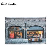 国内即発★Paul Smith★Mini Kings Cross Print カードケース
