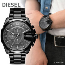 ★クール!安心ヤマト便★DIESEL Mega Chief Chronograph Black
